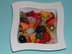 "<font SIZE =""3""><b>Grand mélange salade de fruits"